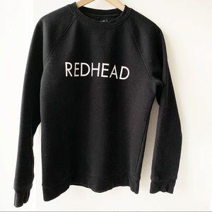 Brunette The Label Redhead Crewneck Sweatshirt